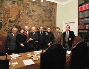 A minute of silence to honor the former president of the IRSA Foundation Council, prof. Dr. hab. Andrzej Szczeklik