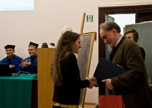 Laureatka Nagrody Laureate of the Award, Ms. Tanita CiesielskaTanita Ciesielska